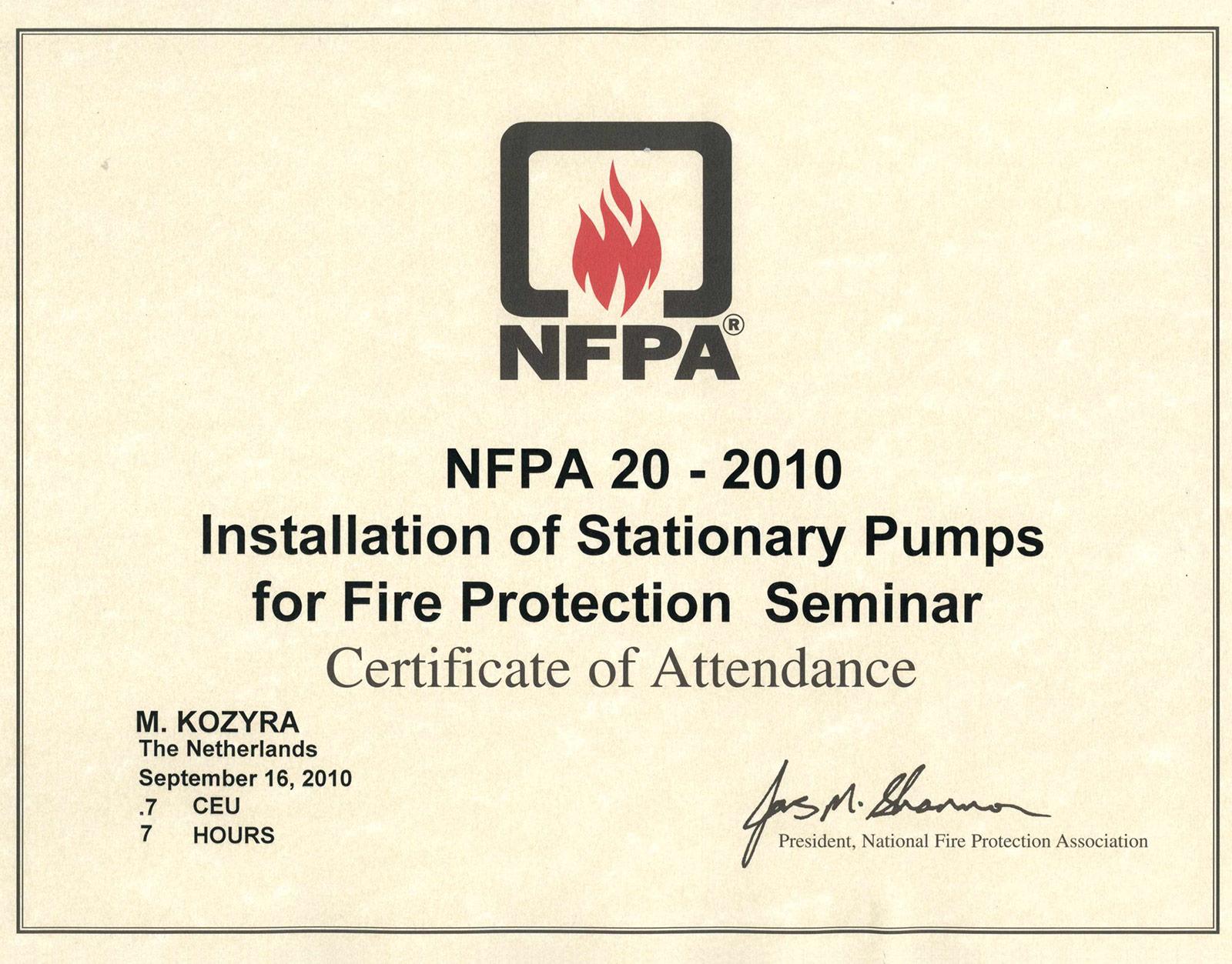 certyfikat_nfpa20-2010