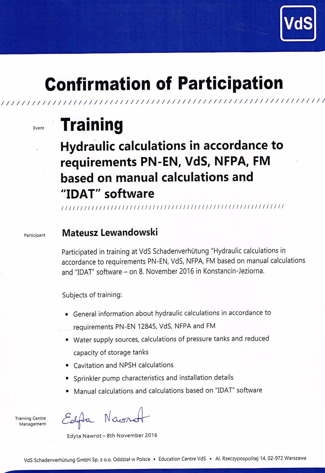 confirmation_hydraulic_calc_lewandowski_mateusz